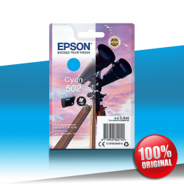 Tusz Epson 5100 XP (502) CYAN 3,3ml
