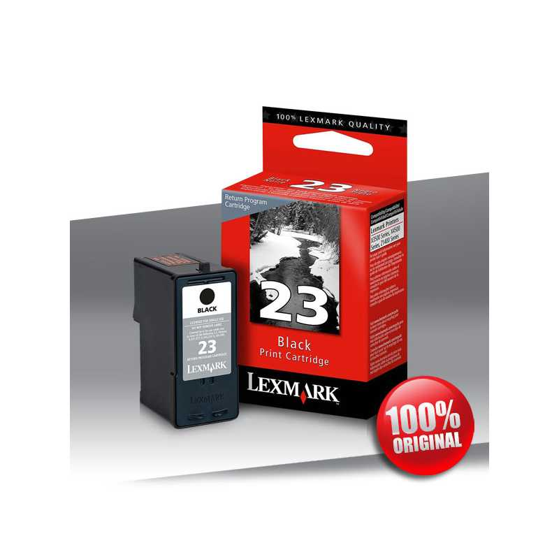 Tusz Lexmark 23 BLACK 195str