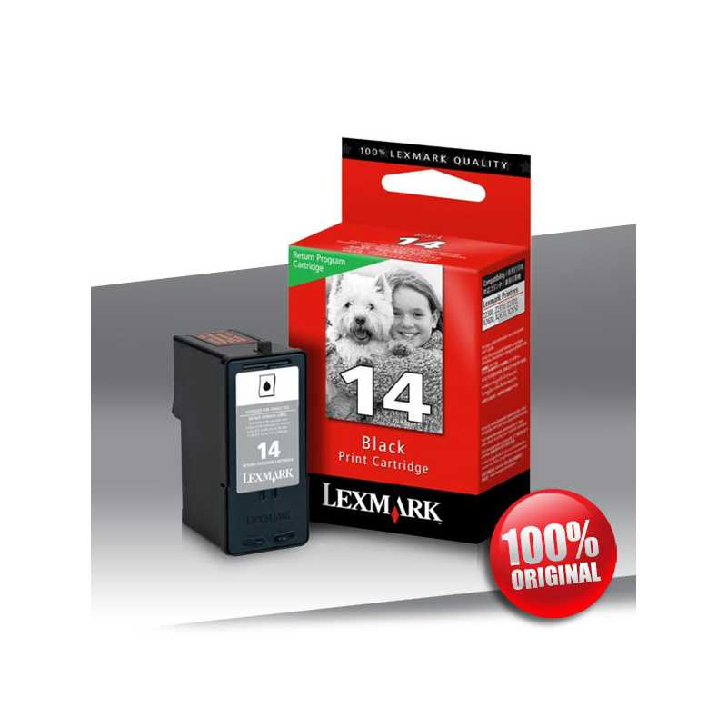 Tusz Lexmark 14 BLACK 175str