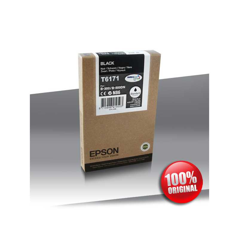 Tusz Epson 500DN B (T6171) BLACK 100ml