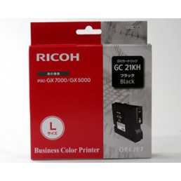 Tusz Ricoh 3000 GX (GC-21K) BLACK 1500str