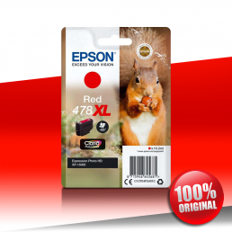 Tusz Epson 15000 XP (478XL) RED 10,2ml
